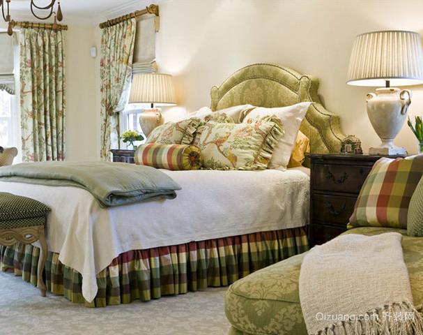 欧美风格卧室家具装修效果图