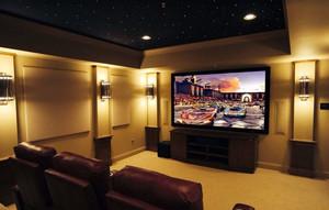 有情调大型20平米家庭影院装修效果图