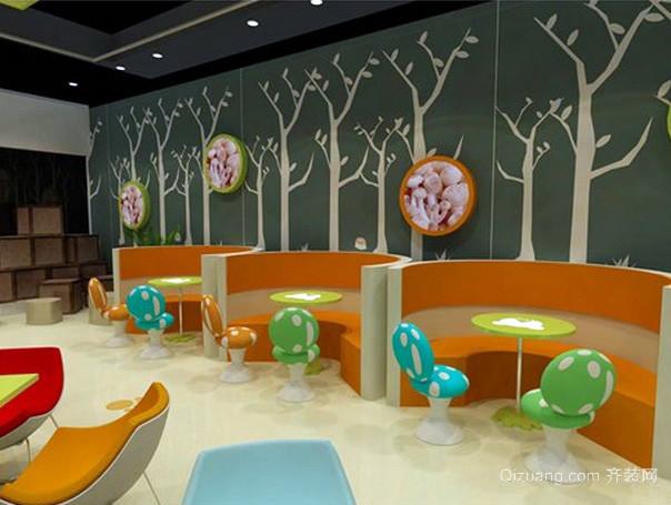 全新儿童主题简约风格餐厅装修效果图