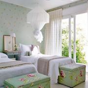 卧室简约风格背景墙效果图