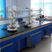 后现代风格深蓝色实验室装饰