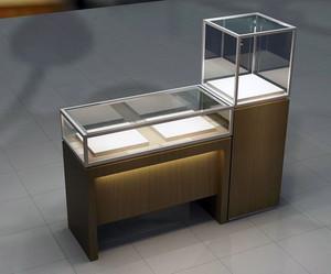都市大型商场珠宝展示柜台装修效果图
