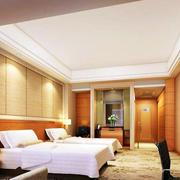 暖色调宾馆室内设计