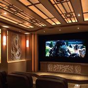 现代奢华的家庭影院