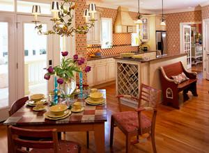 三居室现代风格家居装饰效果图