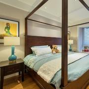 室内美式现代卧室