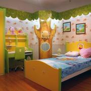 精美的儿童房背景墙图