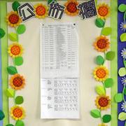 小学班级公告栏设计