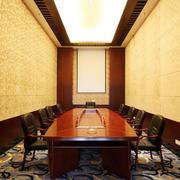 唯美型会议室装修