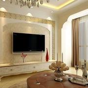 现代唯美的客厅整体图