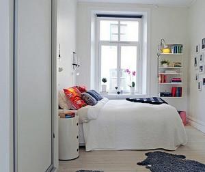 北欧风格简约卧室地板装饰