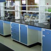 现代简约风格实验室桌椅装饰