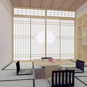 榻榻米背景墙造型图