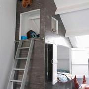 室内儿童床整体设计