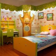 温馨系列儿童房效果图