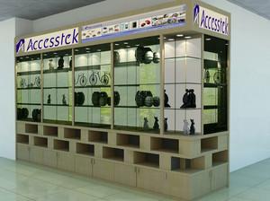 都市大商场的展示柜台装修图片