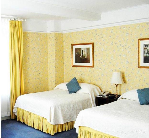 精致现代化小宾馆房间装修效果图