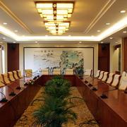 会议室桌子装修图片