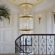 欧式简约风格楼梯间装饰