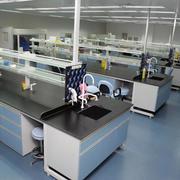 实验室简约风格地板装饰