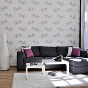 农村房屋简约皮制沙发装饰