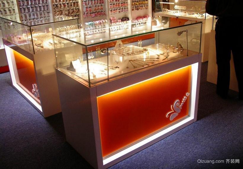 2015现代流行的展示柜台装修图片