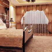 豪宅奢华欧式卧室拱形门装饰