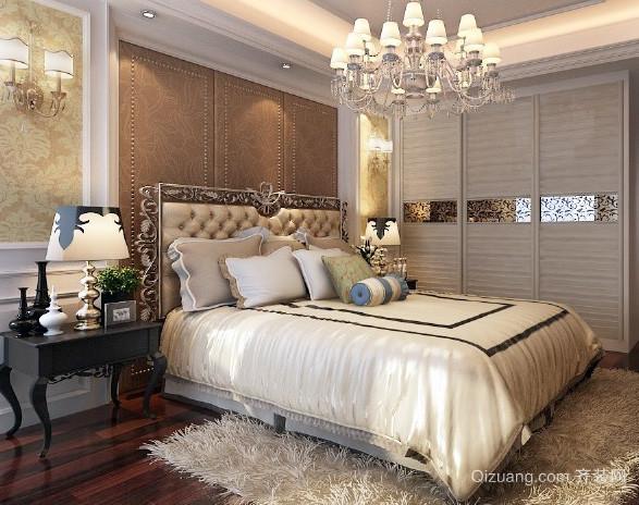 欧式奢华风格豪宅卧室装修效果图