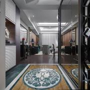 三居室客厅地板设计