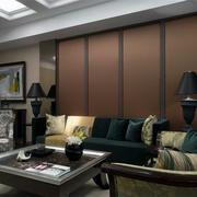 三居室客厅沙发设计