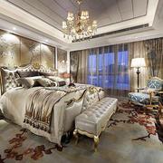 欧式豪宅精致卧室装饰