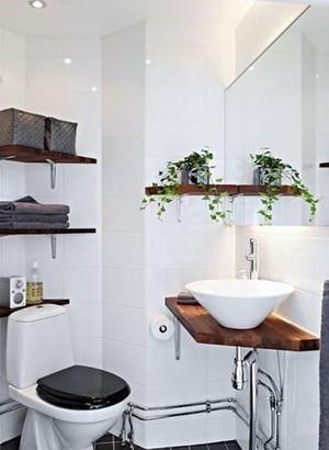 大户型现代简约风格整体卫浴装修效果图