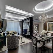 简约优雅型三室两厅