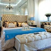 欧式风格风格卧室床饰效果图