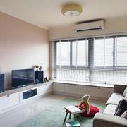 经典小户现代白色淡雅型三室两厅