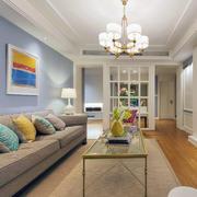 白色唯美型小户客厅设计