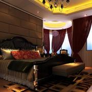 欧式豪宅奢华卧室背景墙装饰