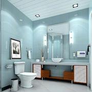卫生间简约风格马桶装饰