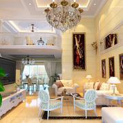 奢华客厅吊顶装饰