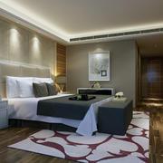 卧室内部灯光设计