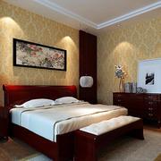 传统型卧室壁纸装修