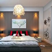 唯美卧室灯光设计