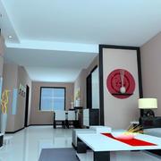 中式客厅壁纸欣赏