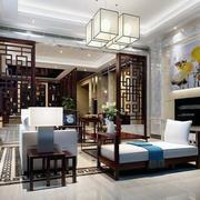 客厅整体设计模板