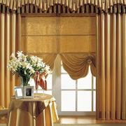 欧式风格简约别墅窗帘效果图