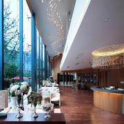 美式风格咖啡厅展厅装饰