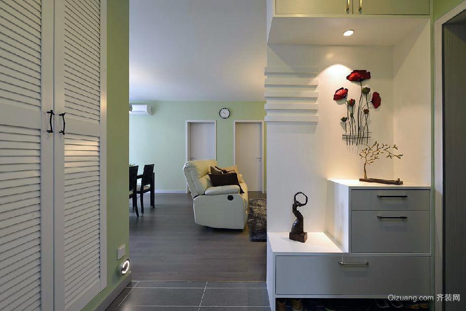 110平米欧式典型小户别墅装潢效果图