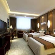 清新色调商务酒店设计