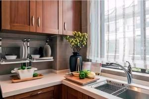 2016典雅小户型精致型家居厨房装修效果图