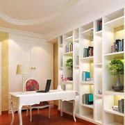 都市家庭书架展示